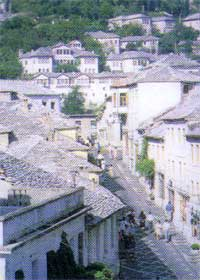 Gjirokastra, the stone city