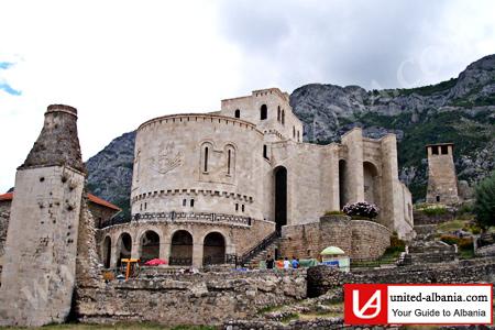 Kruja Medieval castel albania