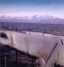Pogradeci, Ohrid Lake, Albania